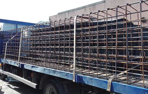 Steel Reinforcement Delivery Service